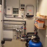 Luft-Wärmepumpenanlage